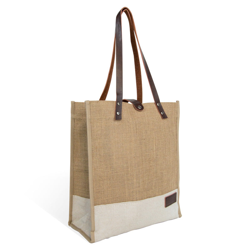 Everyday Tote - Golden Jute