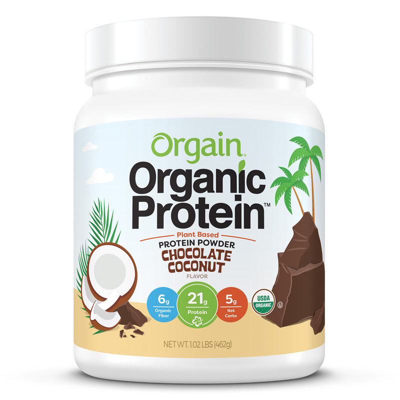 Image of Organic Protein™ Plant Based Protein Powder - Chocolate Coconut