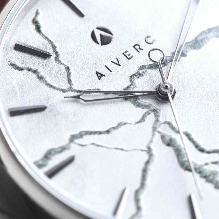 Faena silver grey concrete Aiverc watch