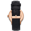 Opera Alligator Black Rose Gold Watch- 40mm - Aiverc | Designer Watches