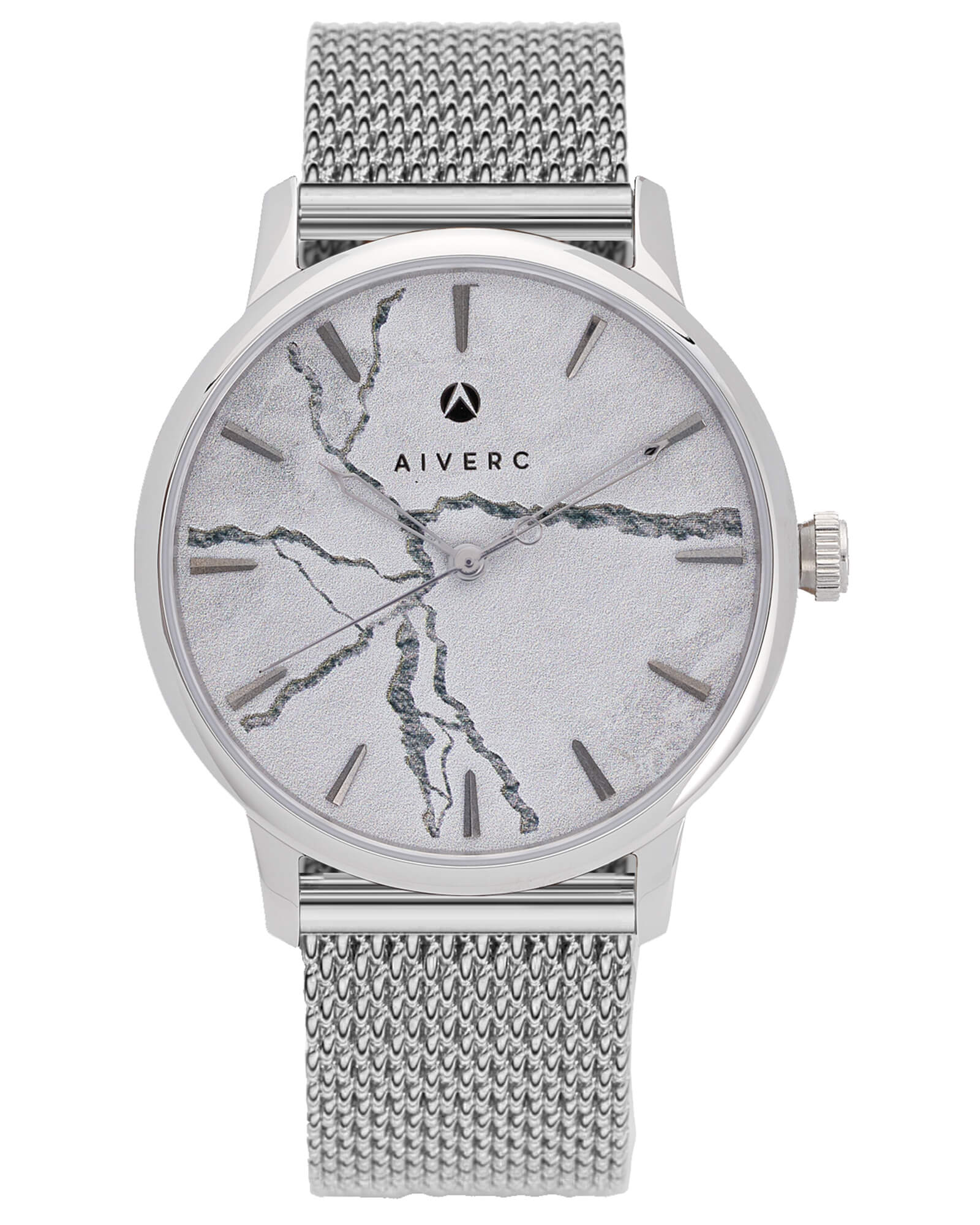 Faena Silver Mesh - 40mm - Aiverc | Designer Watches