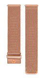Stainless Steel Rose Gold Mesh Strap - Aiverc | Designer Watches