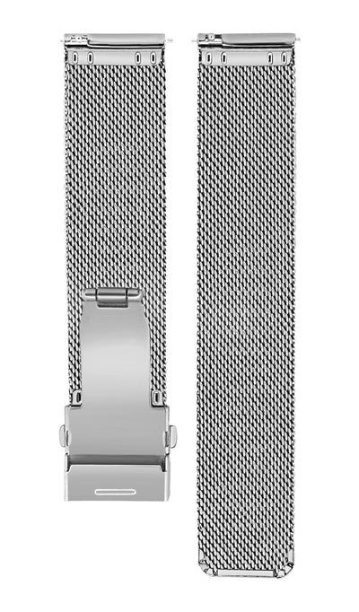 Stainless Steel Sliver Mesh Strap - Aiverc | Designer Watches
