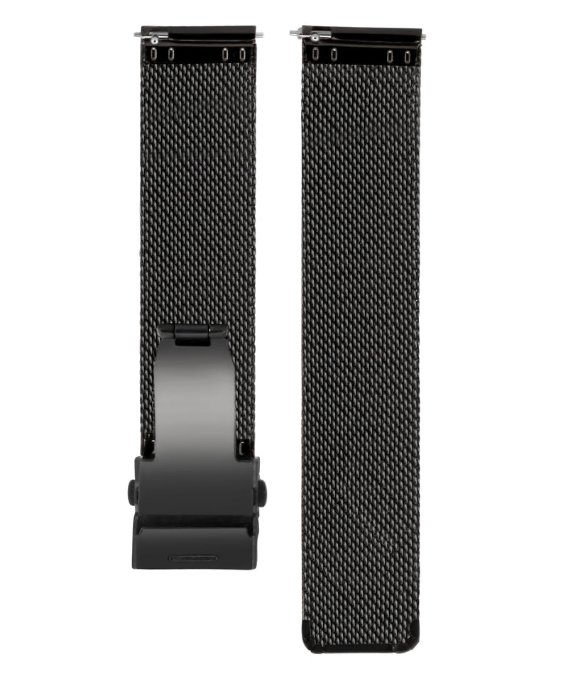 Stainless Steel Black Mesh Straps - Aiverc | Designer Watches