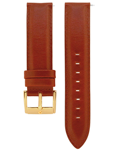 Classic Brown Leather Strap - Aiverc | concept designer watches