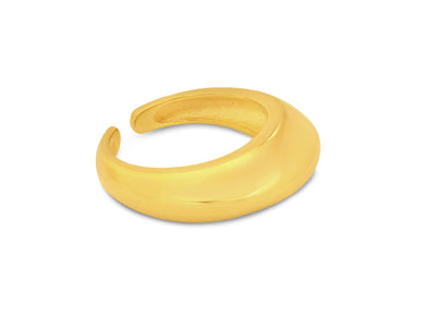 Saturn Gold Geometric Stacking Ring - Aiverc | Designer Watches