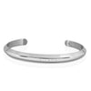 Aiverc Men's Signature Silver Thin Cuff - Aiverc | Designer Watches