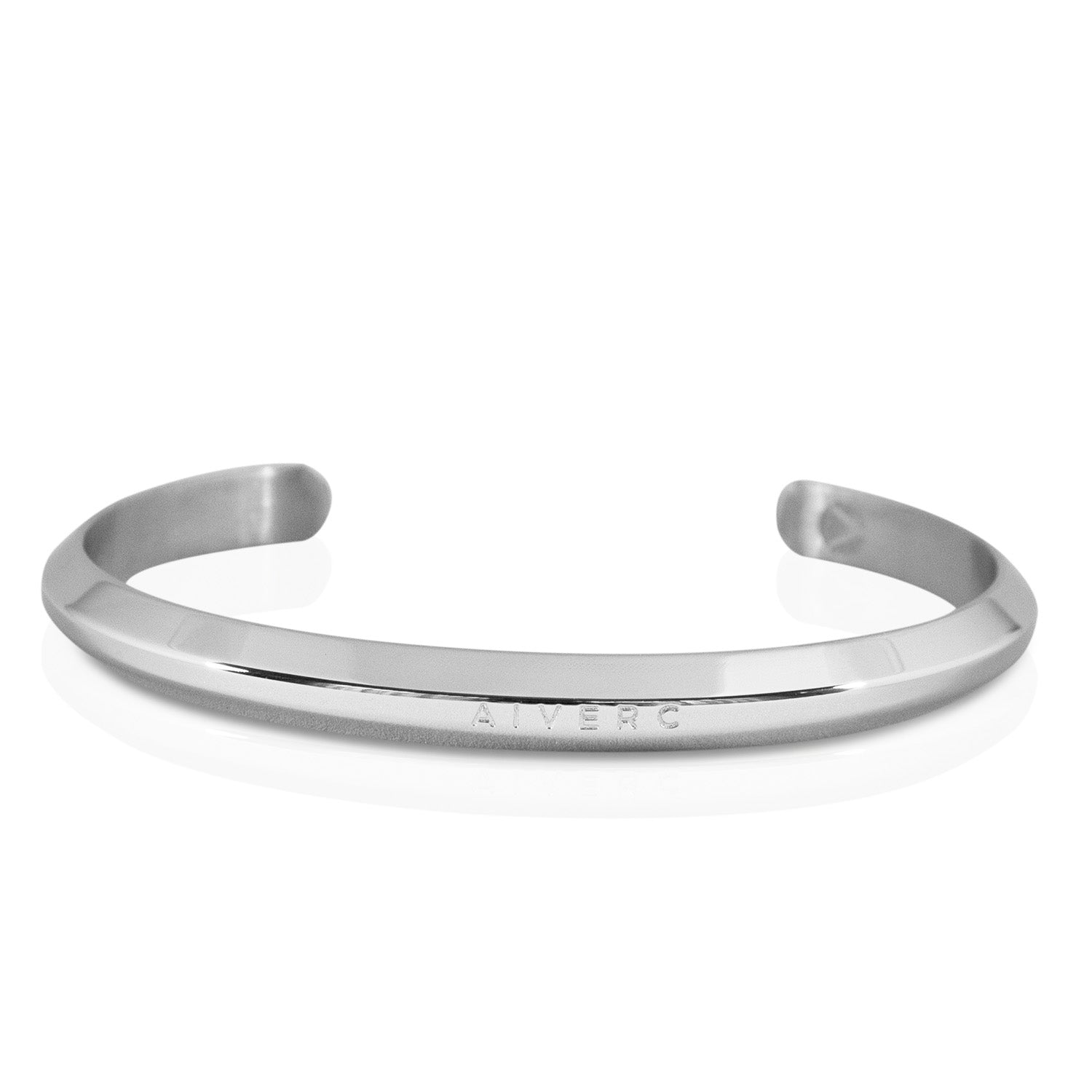 Aiverc Signature Silver Thin Cuff - Aiverc | Designer Watches
