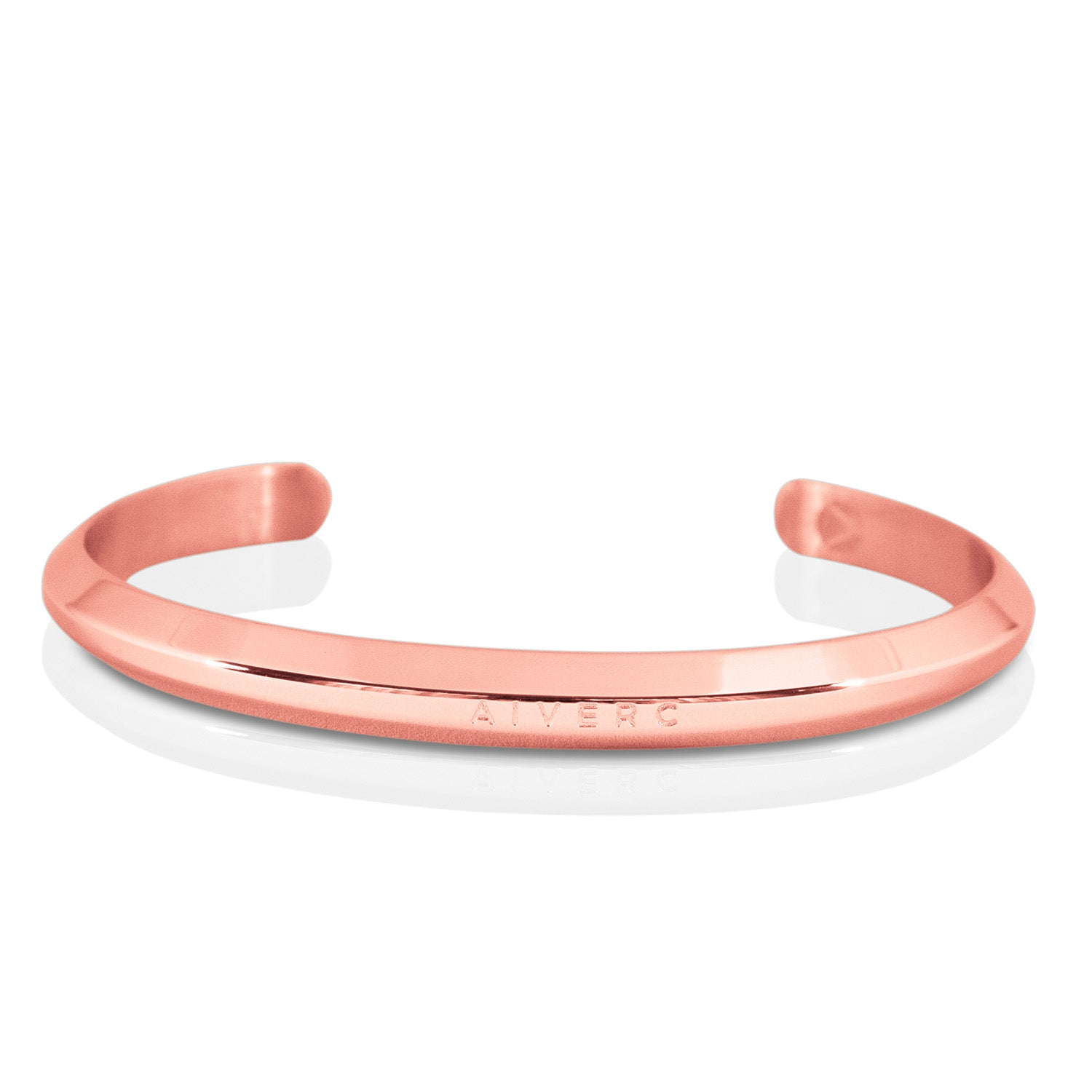 Aiverc Men's Signature Rose Gold Thin Cuff - Aiverc | Designer Watches