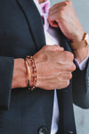 Aiverc Maine Men's Rose Gold Chain Bracelet - Aiverc | concept designer watches