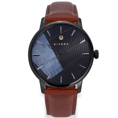 Ontario Classic Black  - 40mm - Aiverc | Designer Watches