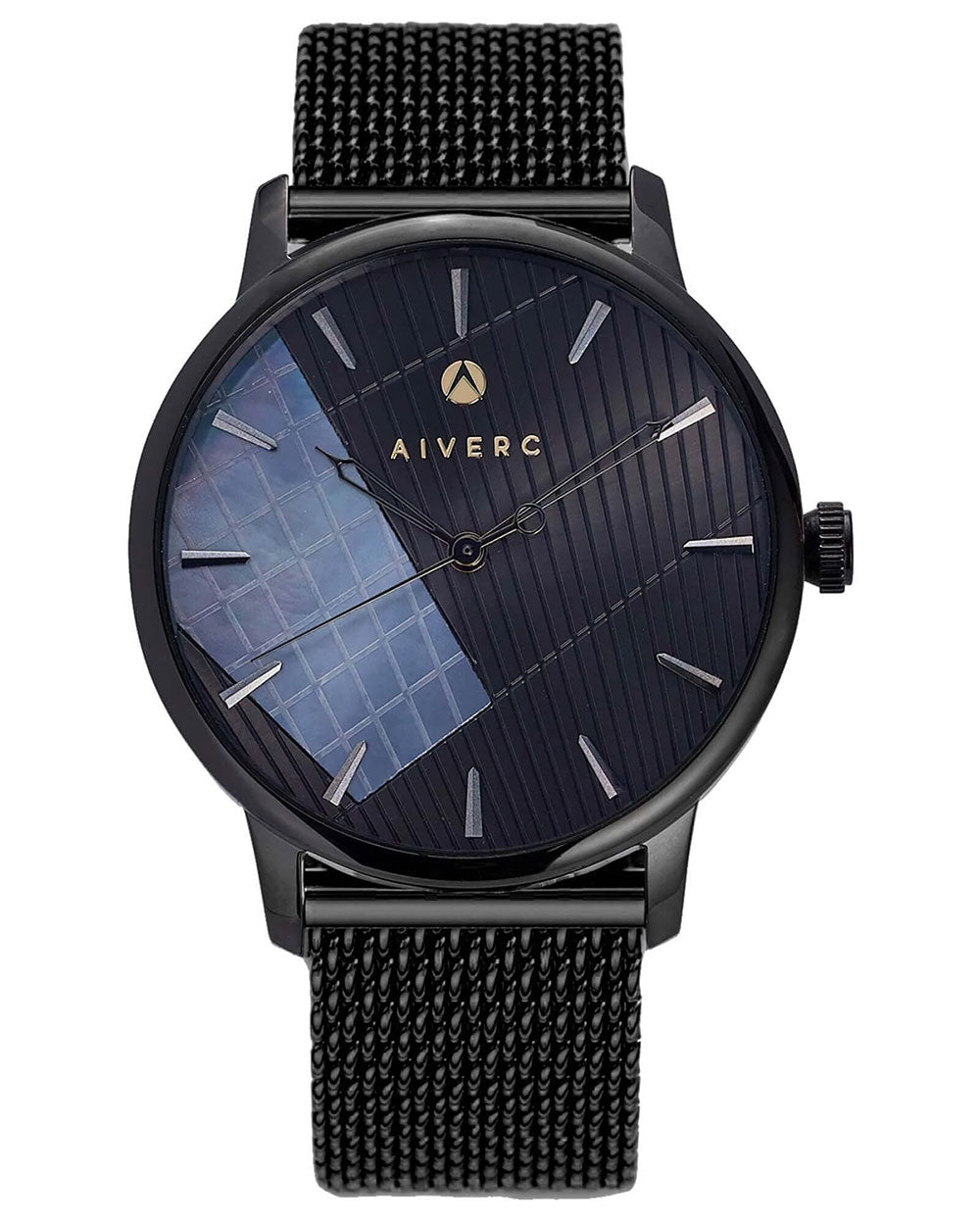 Ontario Black Mesh - 40mm - Aiverc | Designer Watches