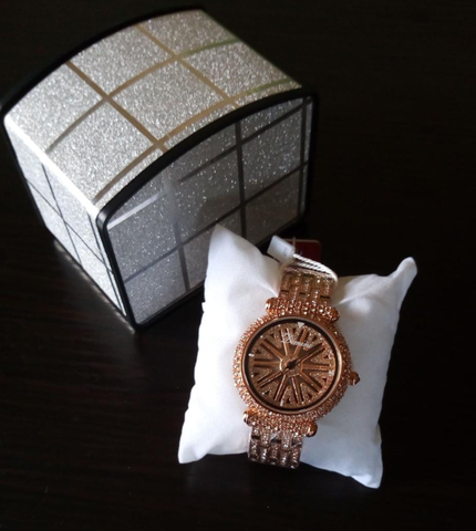 Image of DIMINI Luxury Unisex Diamond Stone Watch - Ghana