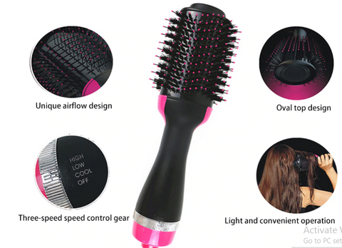 Image of Rotating  Hot Hair Styling Brush