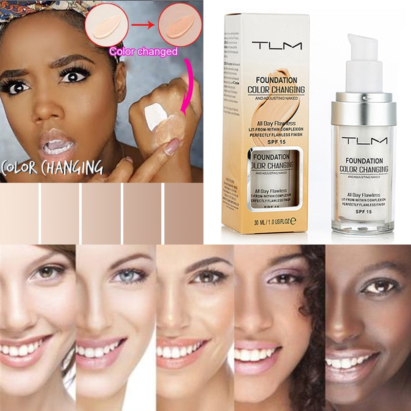 TLM Flawless Color Changing Liquid Foundation