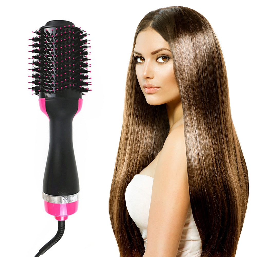 Rotating  Hot Hair Styling Brush