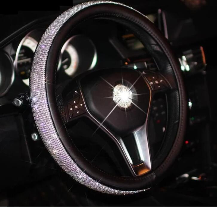 CRYSTAL STEERING WHEEL COVER(Buy 2 Free Shipping)