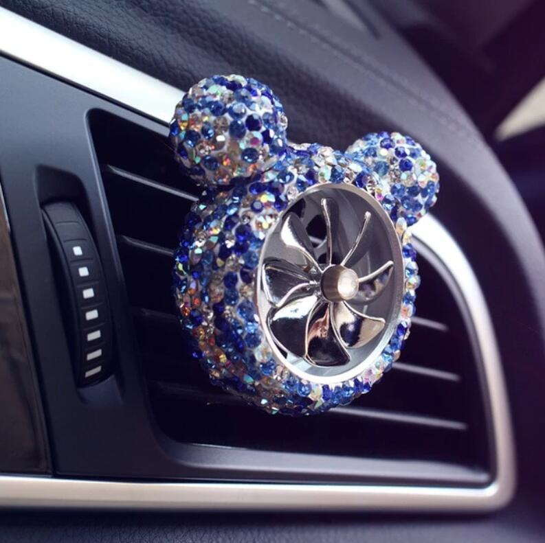 CRYSTAL CAR OUTLET VENT CLIP AIR FRESHENER(Buy 2 Free Shipping)