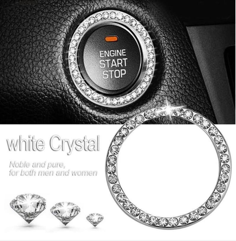 CRYSTAL CAR START SWITCH BUTTON RING(Buy 3 Free Shipping)