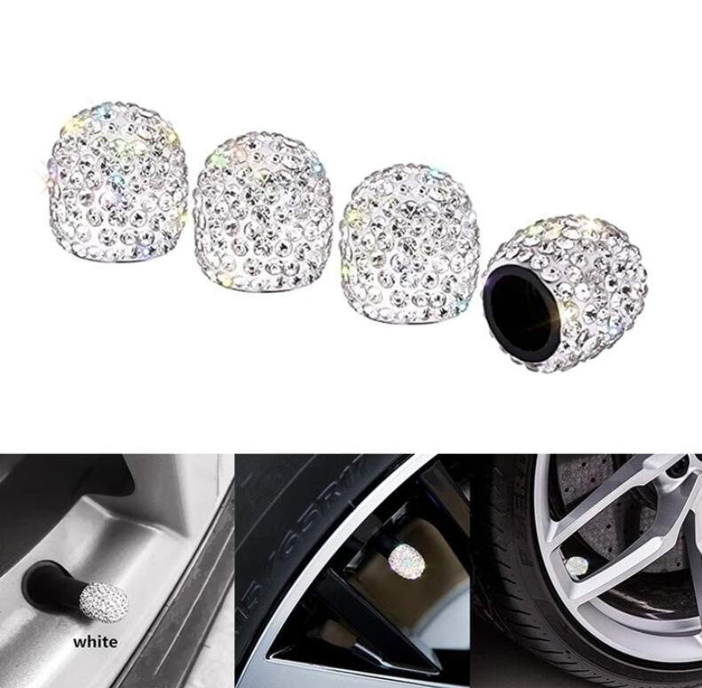 CRYSTAL CAR TIRE VALVE CAPS (Buy 2 Free Shipping)