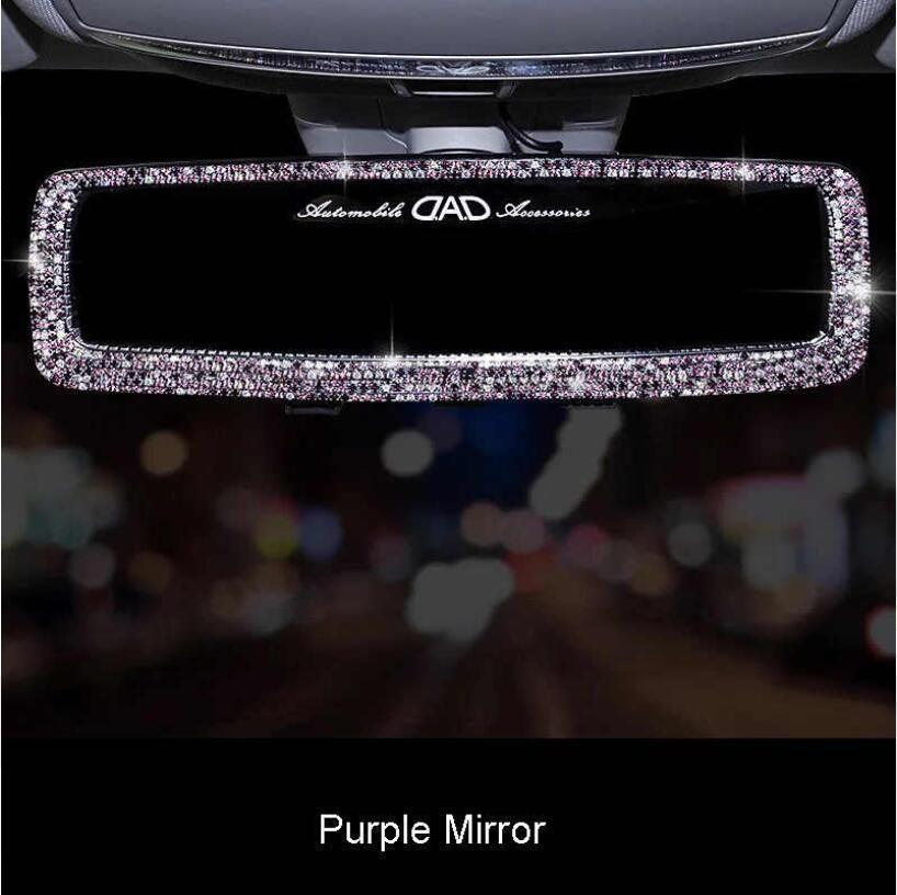 Crystal Car Rear View Mirror Cover(Buy 2 Free Shipping,enjoy 10% off )