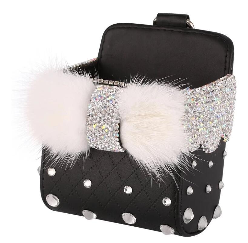 Crystal Bling  Rhinestone Car Storage Organizer(Buy 2 Free Shipping,enjoy 10% off )