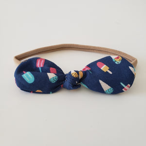 CHILDREN'S BOW HEADBAND - POPSICLE STAND