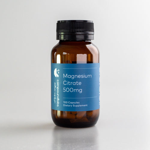 Magnesium Citrate 500mg (100 caps)