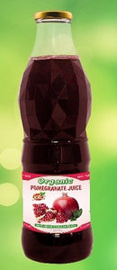 Organic Pomegranate Juice 1L