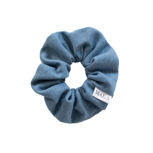 Scrunchie Bleached Blue Denim