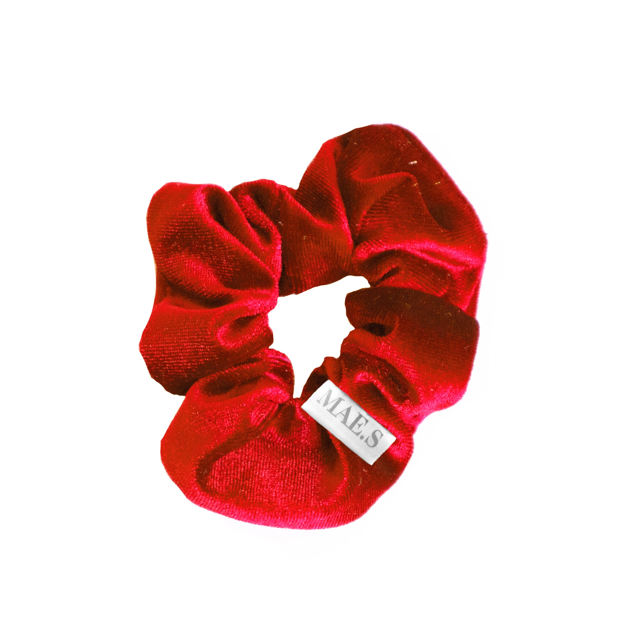 Scrunchie Candy Red