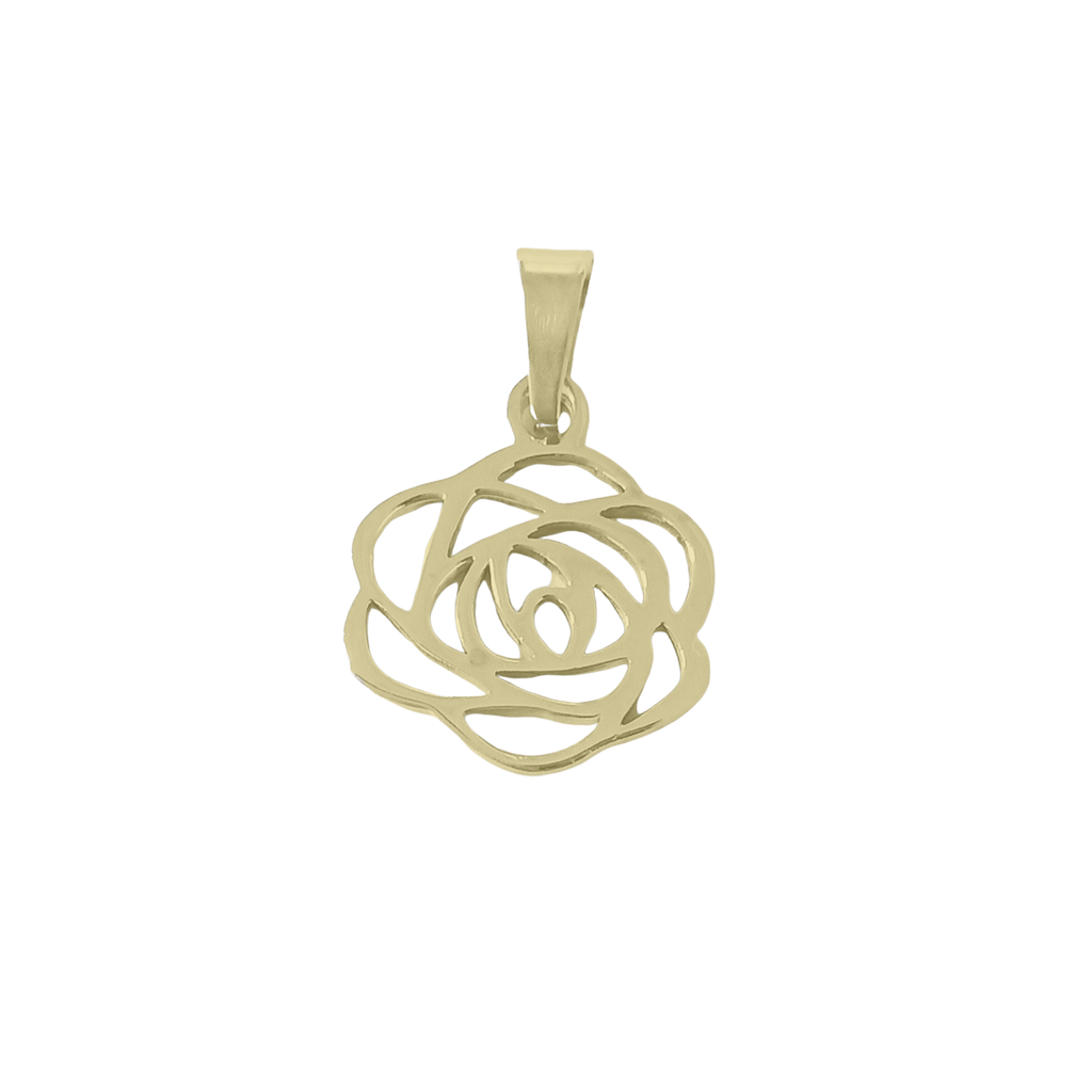 Rose The Night Away Charm Gold