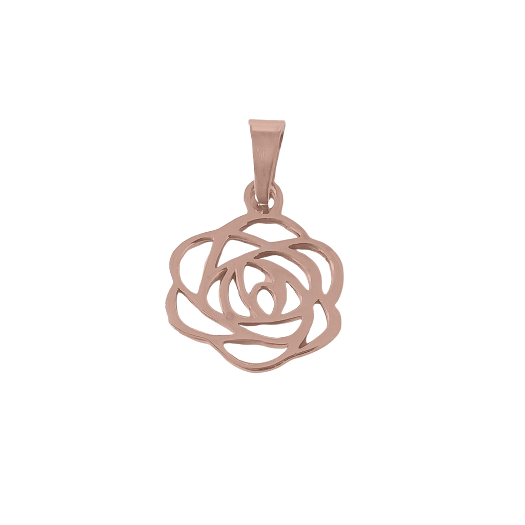 Rose The Night Away Charm Rosegold