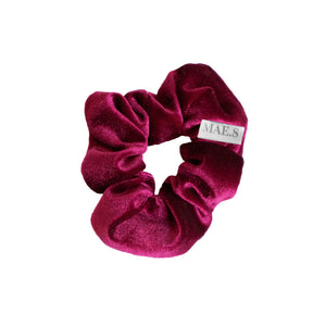 Scrunchie Cherry Red
