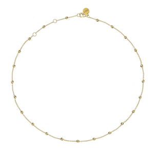 Dots Necklace Gold