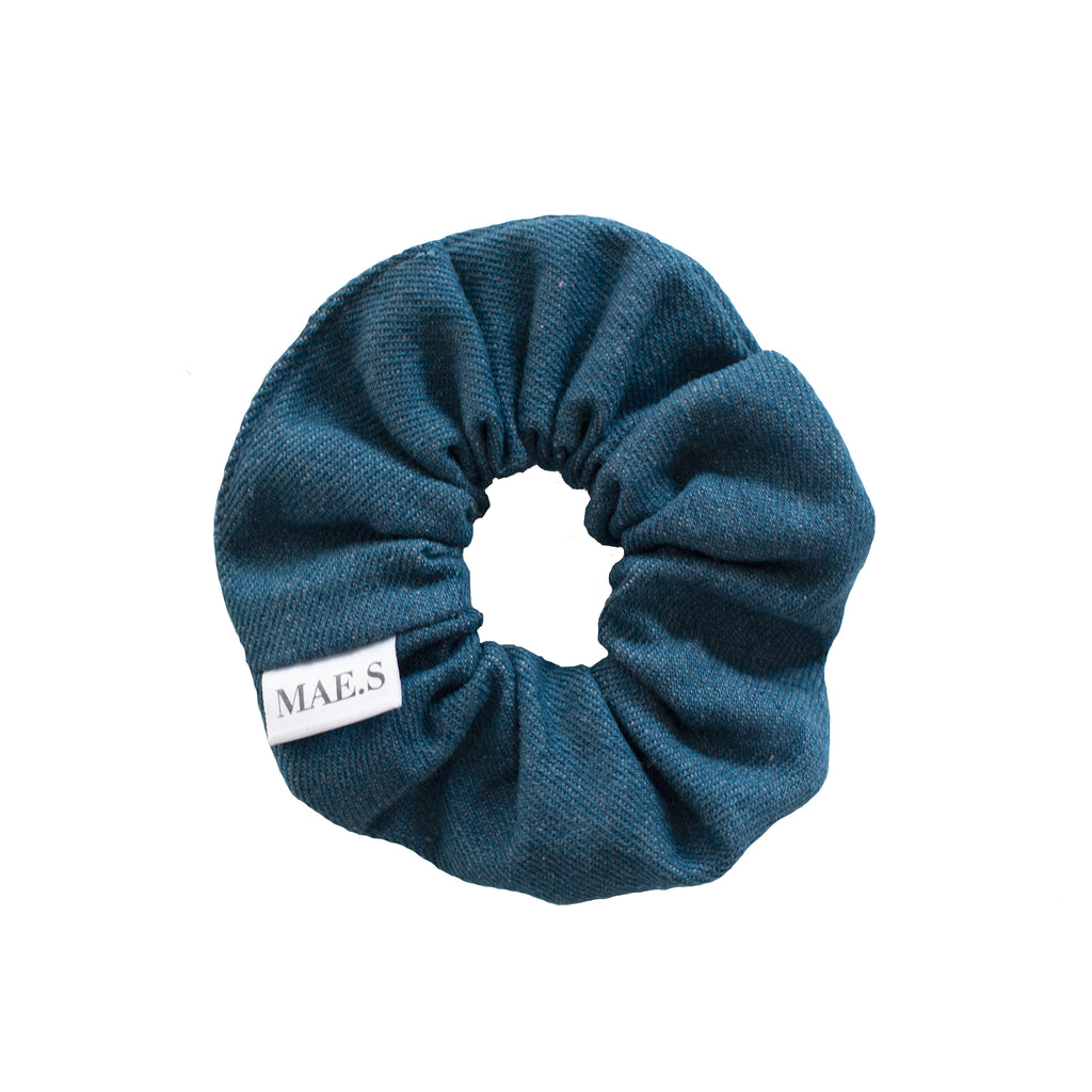 Scrunchie Sky Blue Denim