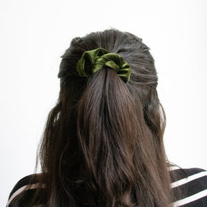 Scrunchie Forest Green