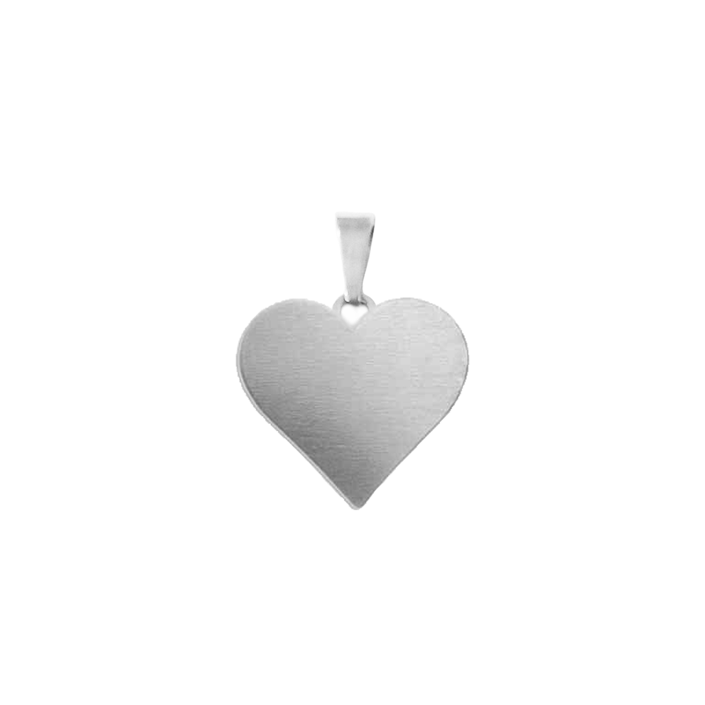 You've Got My Heart Charm Silver