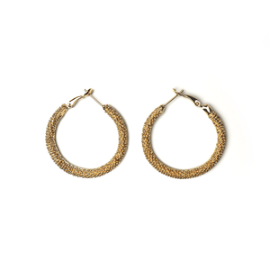As An Angel Earrings Gold