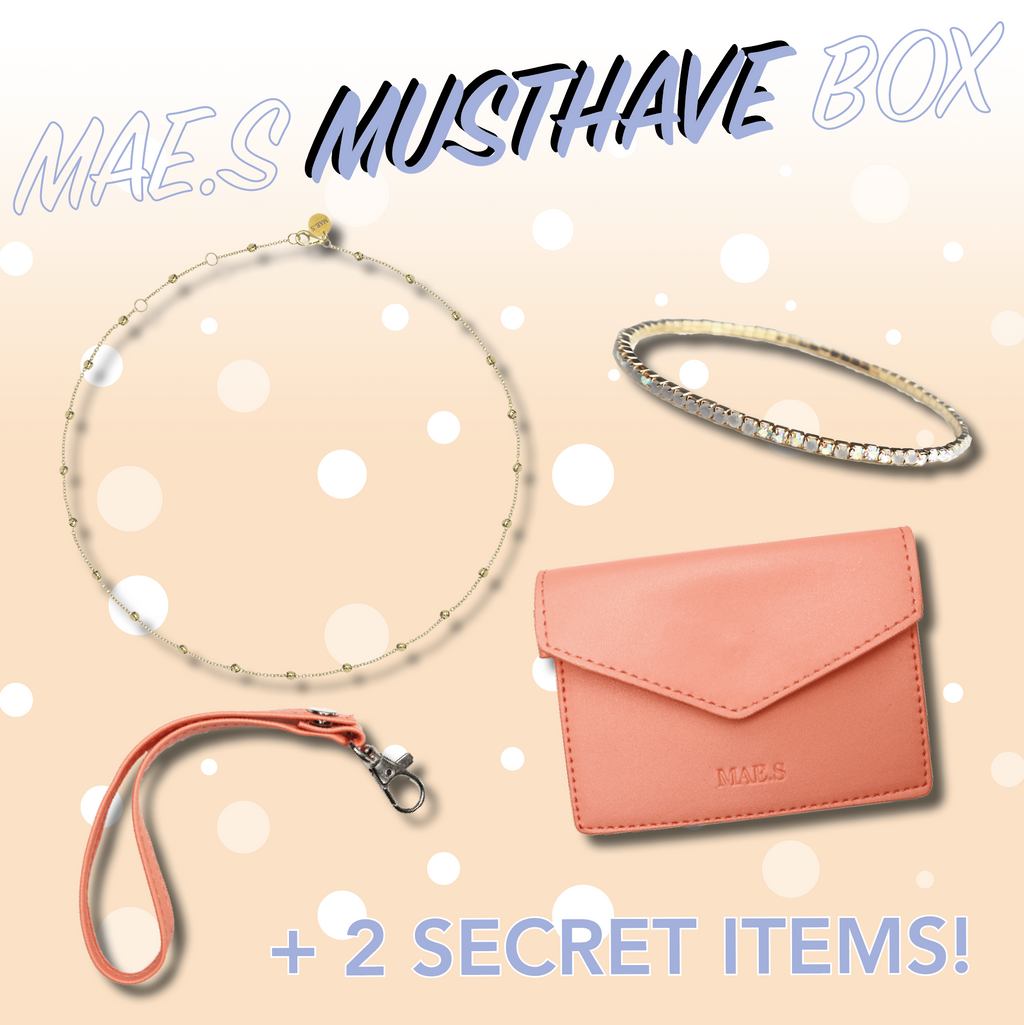 MAE.S MUSTHAVE BOX - Gold