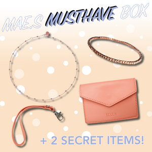 MAE.S MUSTHAVE BOX - Rosegold