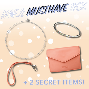 MAE.S MUSTHAVE BOX - Silver