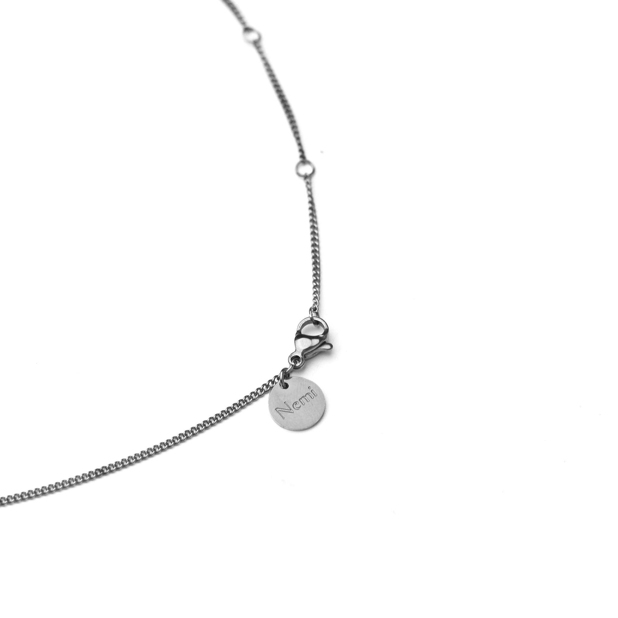 Plain Necklace Silver