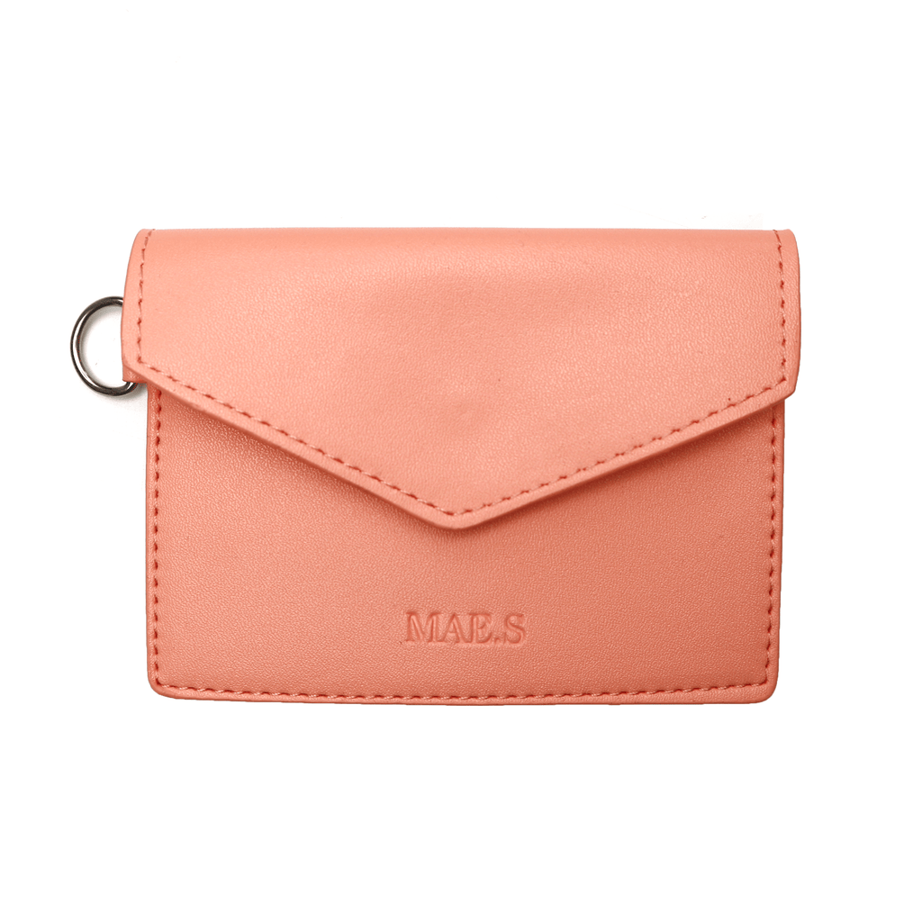 Coral Envelope Bag