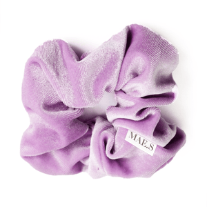 Velvet Scrunchie Lila Love