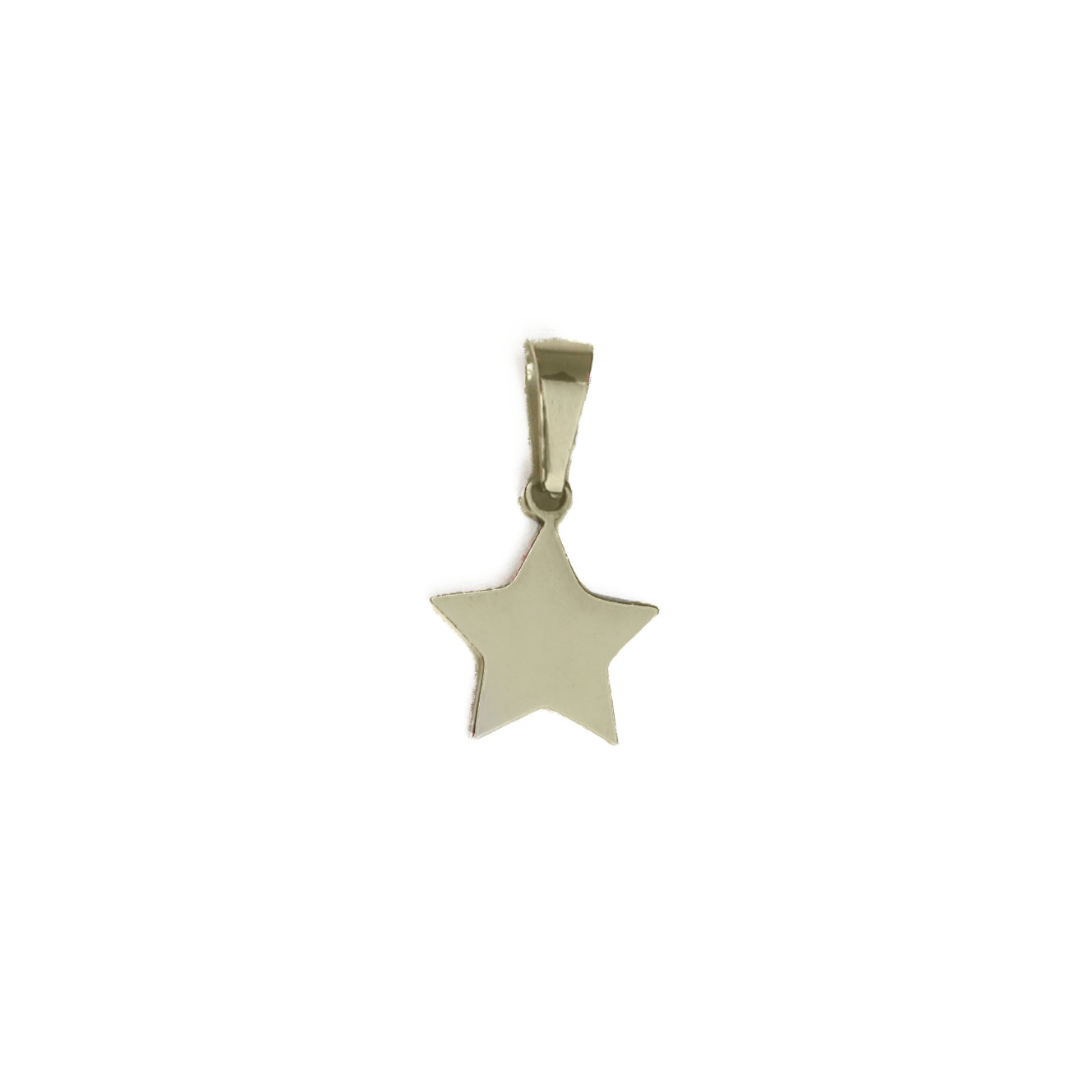Twinkle Twinkle Little Star Charm Gold