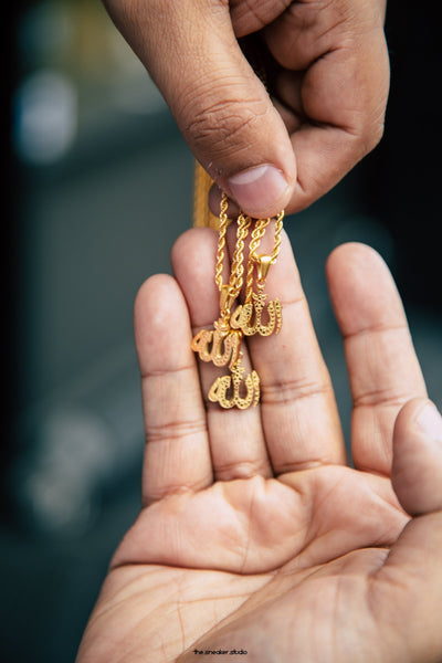 Micro Allah - 18k Gold Plated - GOLDENGILT