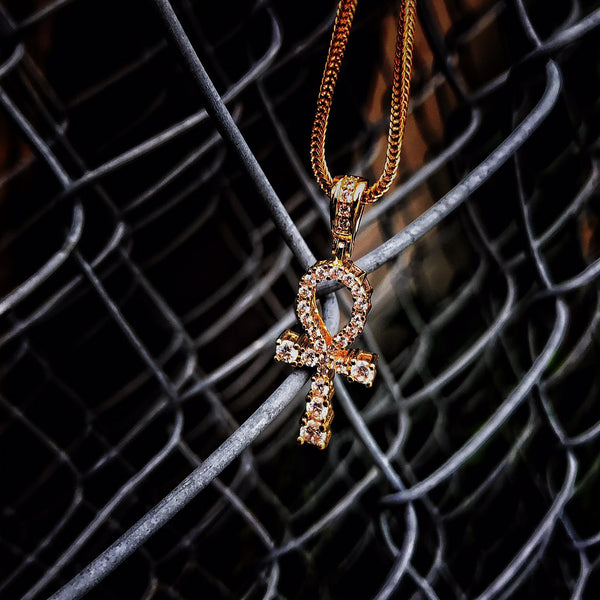 Ankh - 18k Gold Plated - GOLDENGILT