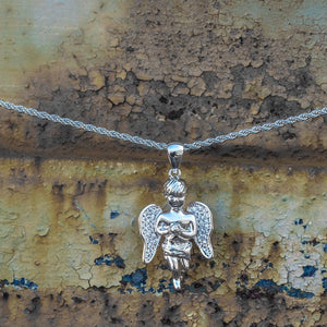 Angel Piece - Silver Polished - GOLDENGILT