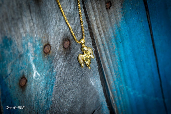 Angel Piece - 18k Gold Plated - GOLDENGILT